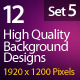 Web Background Design 1920x1200 (Set 5) - GraphicRiver Item for Sale