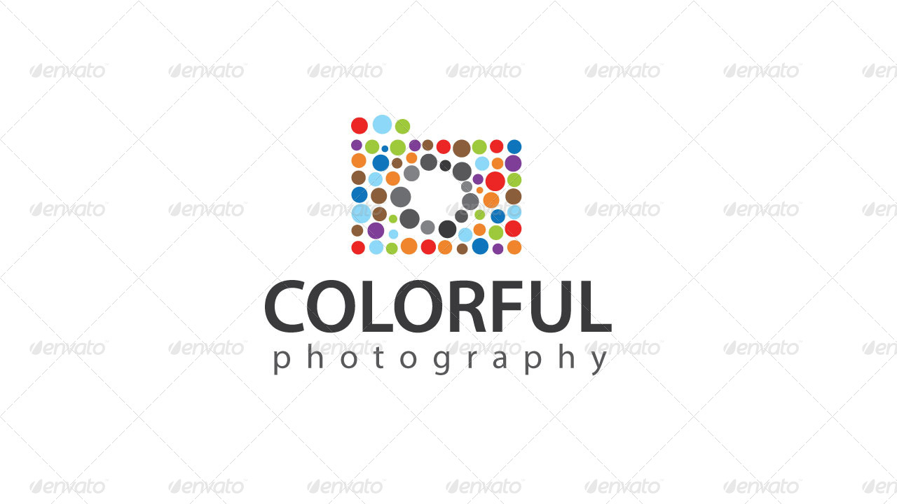 Colorful Photography Logo Template By Kazierfan Graphicriver