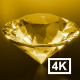 Golden Diamond 4K - VideoHive Item for Sale