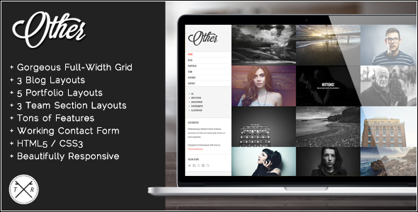 Other – Retina Ready Photography HTML5 Template