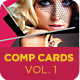 Model Comp Card Template Kit Vol1 - GraphicRiver Item for Sale