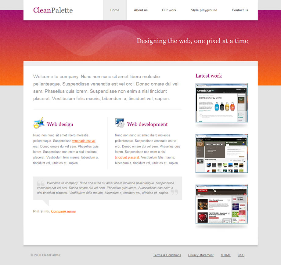 Free Download CleanPalette Nulled Latest Version