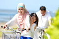 family bicycle outdoor - PhotoDune Item for Sale