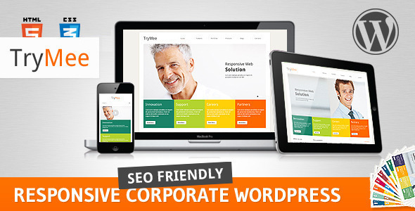 TryMee – Premium responsive corporate theme