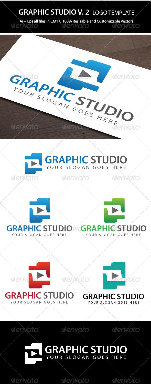Exclusive 4 Colors Graphic Studio V.2  - Symbols Logo Templates