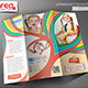 Kid's School Promotion Trifold Brochure Template - GraphicRiver Item for Sale