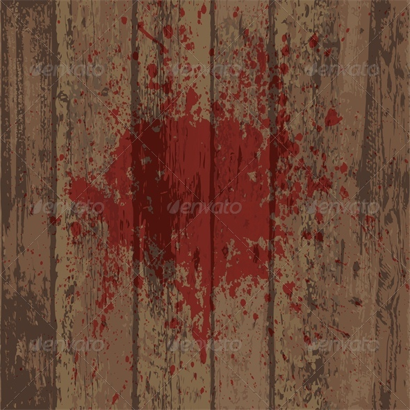 Wooden Wall Or Floor With Blood Stain By Sveta Aho Graphicriver It's cause by the bashed patch and the mod enhanced blood textures. wooden wall or floor with blood stain