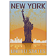 New York Vintage Poster - GraphicRiver Item for Sale