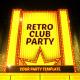 Retro Club Party Promo - VideoHive Item for Sale