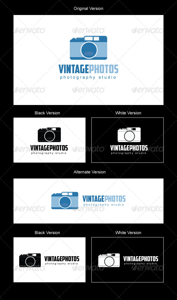 VintagePhotos Logo Design - Objects Logo Templates