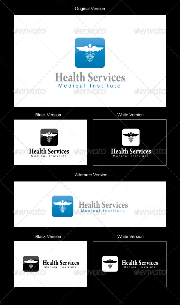 Health Services Logo Design - Humans Logo Templates