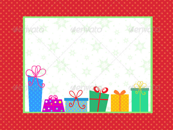 Christmas gift background - Christmas Seasons/Holidays