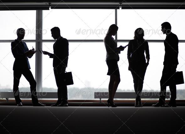 Business communication - Stock Photo - Images
