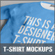 Designers T-Shirt Mockups - GraphicRiver Item for Sale