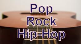 Pop, Rock, Hip-Hop