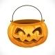 Jack O' Lantern Bag for Candy on Halloween
