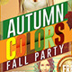 Autumn Colors Fall Party Flyer - GraphicRiver Item for Sale