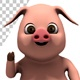 Pig Waving - Hello Gesture (3-Pack) - VideoHive Item for Sale