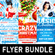 Christmas Celebration Flyer Bundle - GraphicRiver Item for Sale