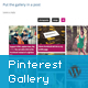 Responsive Pinterest Grid Gallery WordPress Plugin