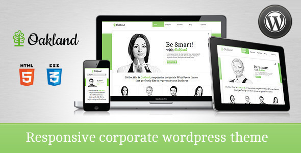 Oakland – Premium Responsive WordPress Theme