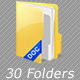 File Folder icons - GraphicRiver Item for Sale
