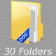 File Folder icons - GraphicRiver Item for Sale