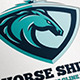 Horse Shield Logo - GraphicRiver Item for Sale