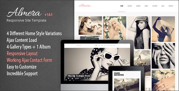 Almera Responsive Portfolio Site Template - Portfolio Creative