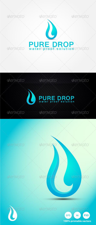 Water Drop - Nature Logo Templates