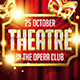 Theatre Party Poster - GraphicRiver Item for Sale