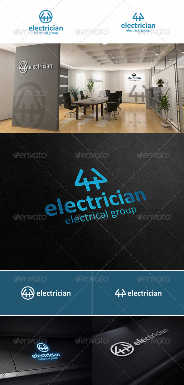 Electrician Creative Logo - Symbols Logo Templates