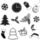 Set of Christmas Subjects and Decorations - GraphicRiver Item for Sale