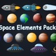Space Elements Pack - VideoHive Item for Sale