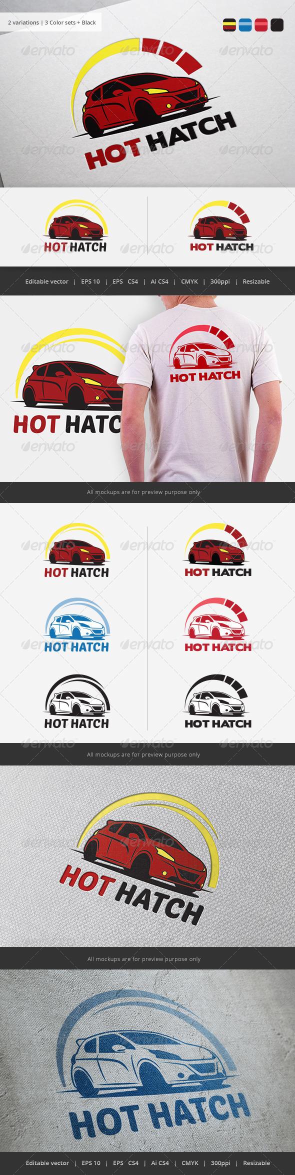 High Performance car Logo