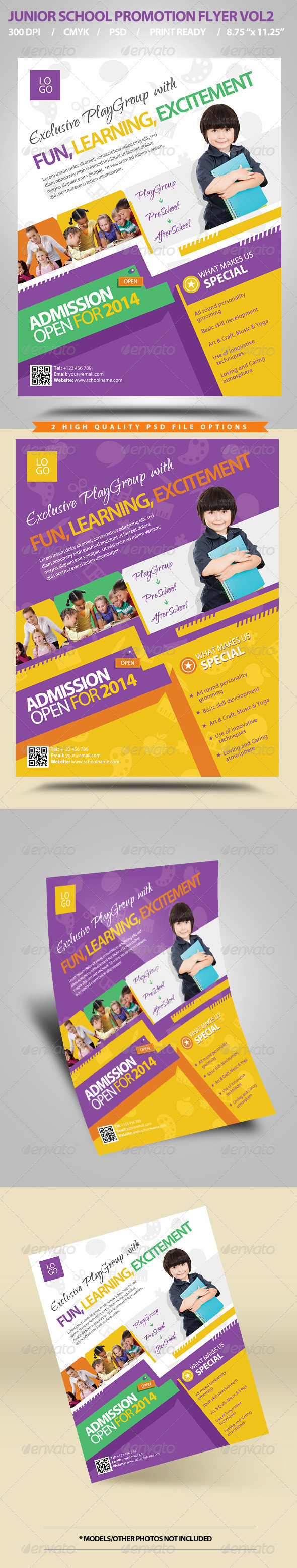 Junior School Promotion Flyers Vol2 - Corporate Flyers