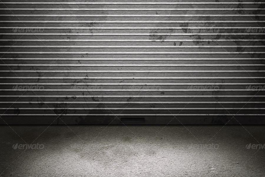Old Garage Background By Mkrukowski Graphicriver