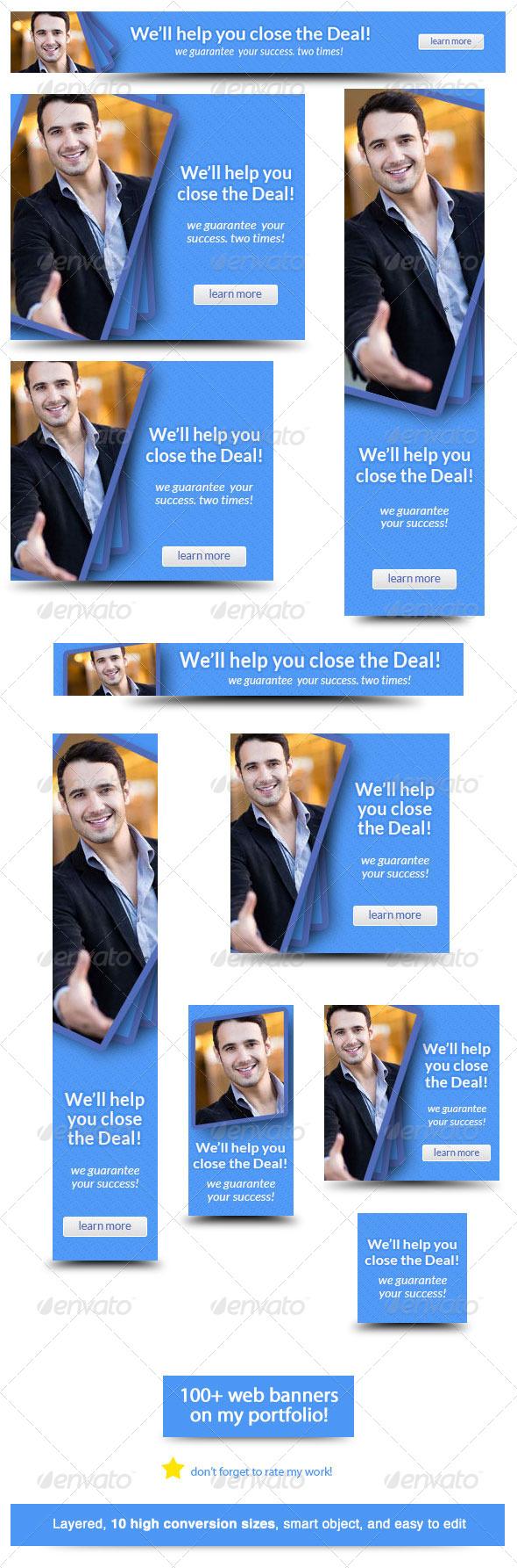 corporate web banner design template 27admiral_adictus