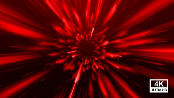 Abstract Red Fractal Background 4k By Videopilot Pro Videohive