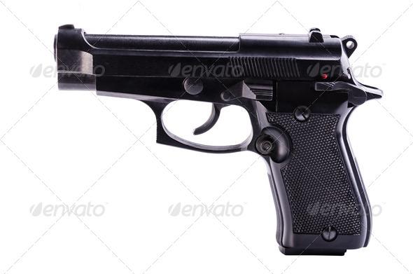 gun - Stock Photo - Images