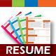 4 Set Creative & Professional Resume Template  - GraphicRiver Item for Sale