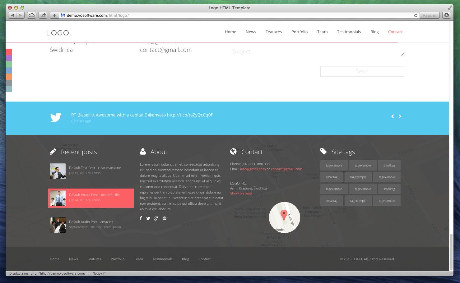LOGO - Responsive HTML5 Template by yosoftware   ThemeForest