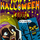 Poster Invite for Halloween Party with Skeleton - GraphicRiver Item for Sale