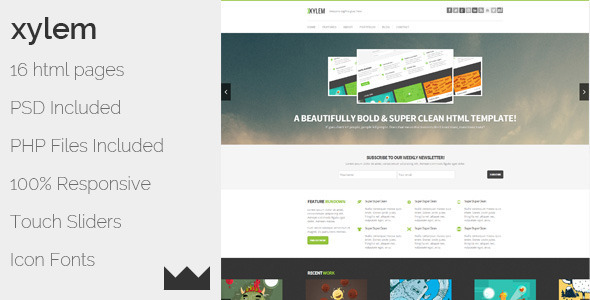 Xylem - HTML - Creative Site Templates