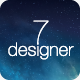 De7igner - Flat iOS7 Inspired Coming Soon Template Nulled