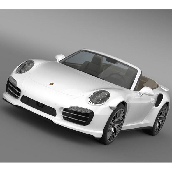 Porsche 911 Turbo S Cabrio 2014 - 3DOcean Item for Sale