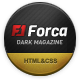 Forca - Responsive News/Magazine HTML Template Nulled