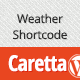 Caretta Weather Shortcode