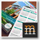 Pocket Calendar Set 2013-2014-2015 RealEstate - GraphicRiver Item for Sale