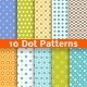Different Dot Seamless Patterns - GraphicRiver Item for Sale